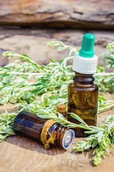 Extrait d'absinthe. plantes médicinales. mise au point sélective.