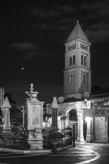 Faade de l'église luthérienne du rédempteur, jérusalem, israël