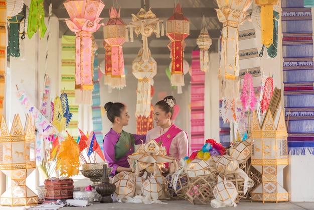 Fabrication de lampes traditionnelles à la main