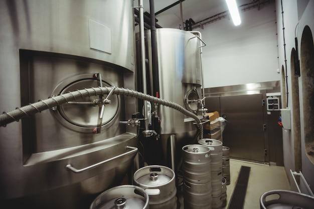 Fabrication de machines en brasserie