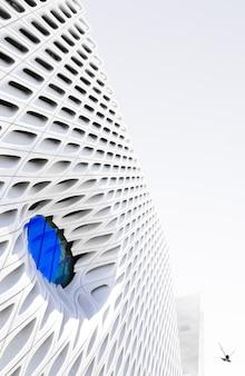 Façade de bâtiment moderne