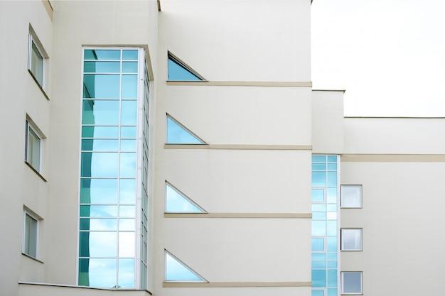 Façade du bâtiment de l'hôpital