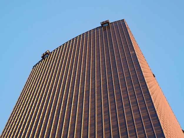 Façade d'un immeuble.
