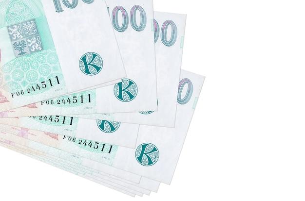 Factures korun tchèque se trouve en petit groupe ou pack isolé