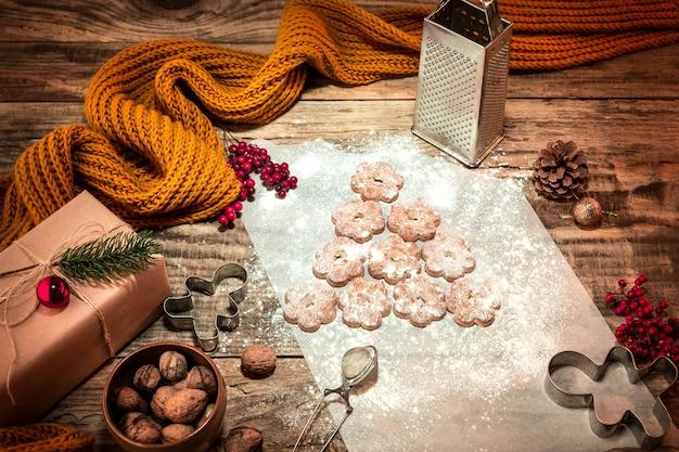 Faire des biscuits au pain d'épice