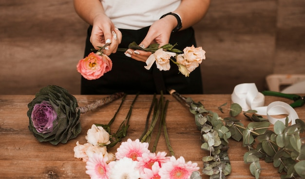 Faire des bouquets