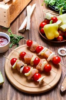 Faire du kebab à partir de poulet