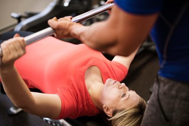 Faire du sport au club de gym