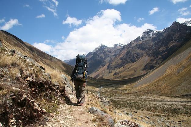 Faire du tourisme dans le sentier