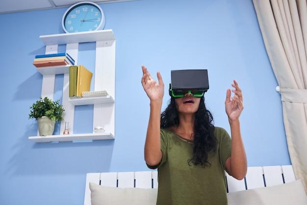 Faire l'expérience de la réalité virtuelle