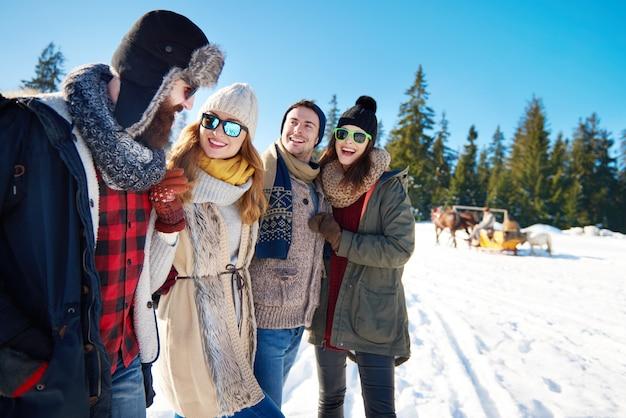 Faire plus de souvenirs pendant les vacances d'hiver