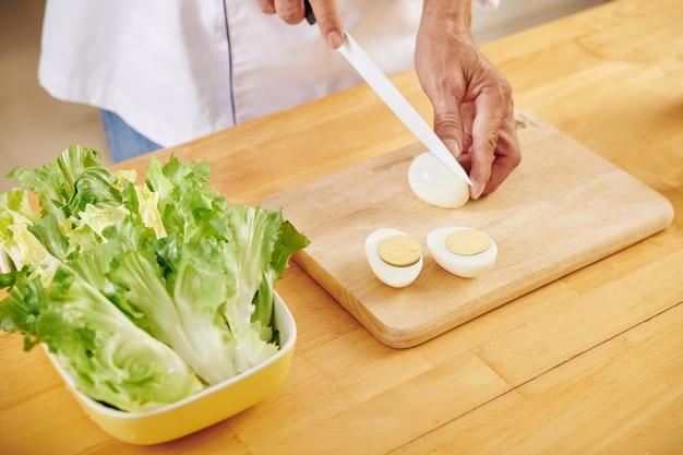 Faire une salade césar