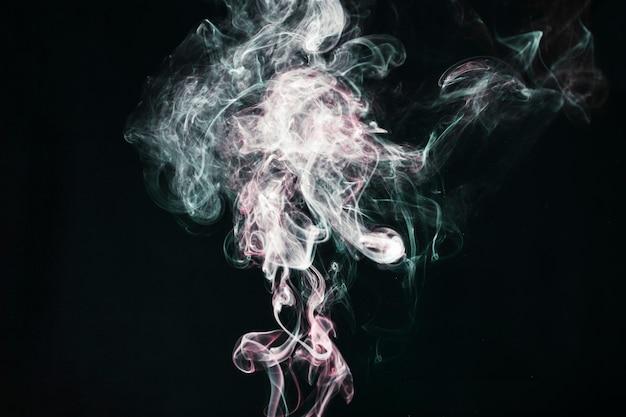 Faisceaux de fumée légère
