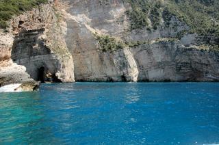Falaises méditerranéennes, de la méditerranée