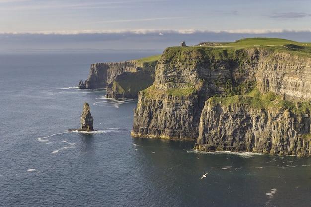 Falaises de moher knockevin irlande
