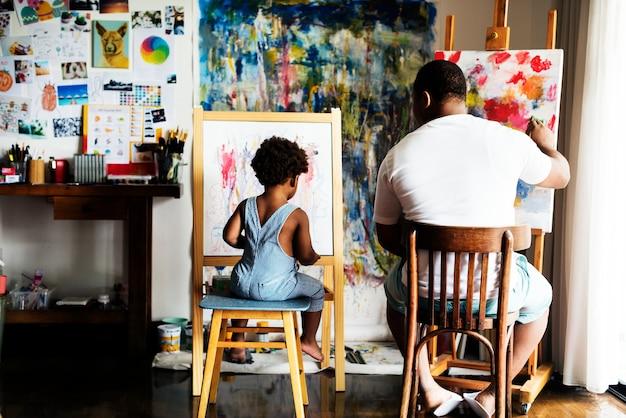 Famille d'artiste
