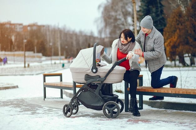 Famille d'hiver