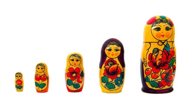 Famille russe set dol