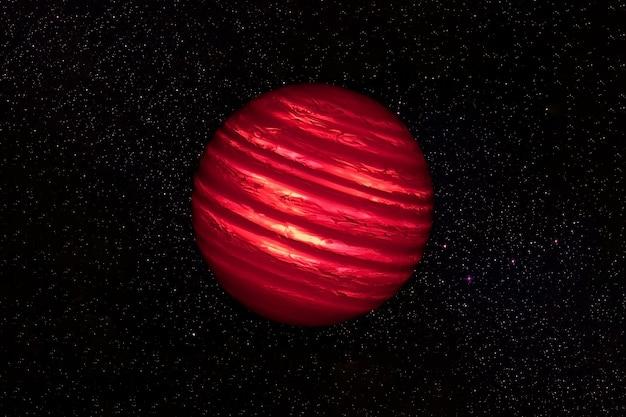 Fantastique planète chaude. les éléments de cette image ont été fournis par la nasa. photo de haute qualité