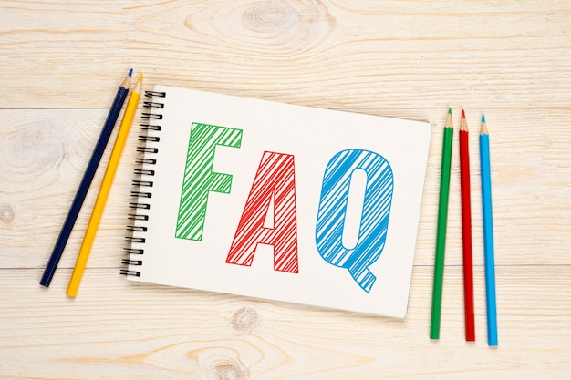 Faq, concept de questions fréquemment posées