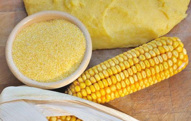 Farine de maïs pour polenta