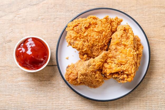 Farine de poulet frit