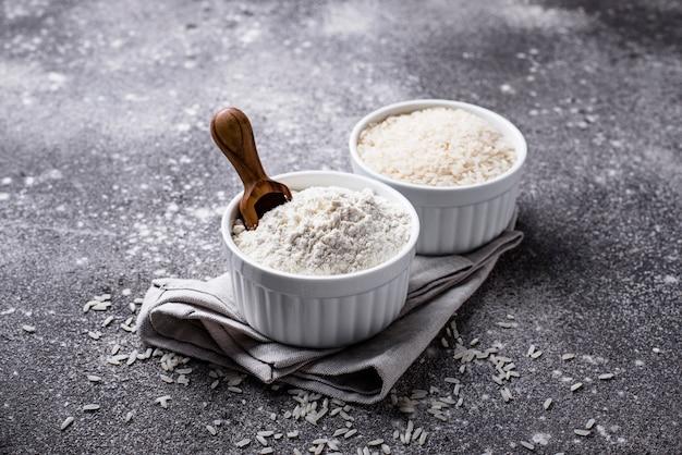 Farine de riz saine sans gluten