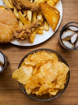 Fast-food gras et malsain