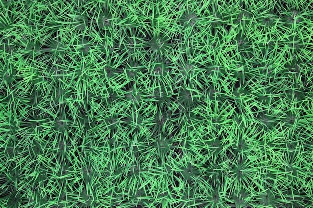Faux fond d'herbe