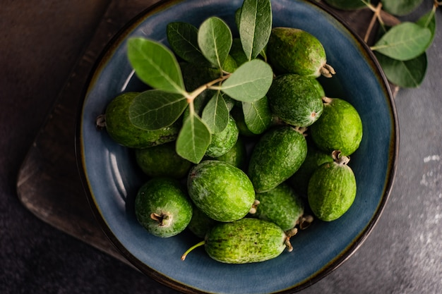 Feijoa aux fruits bio d'automne