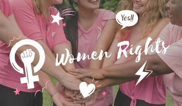 Féminisme égalité confiance des femmes droit