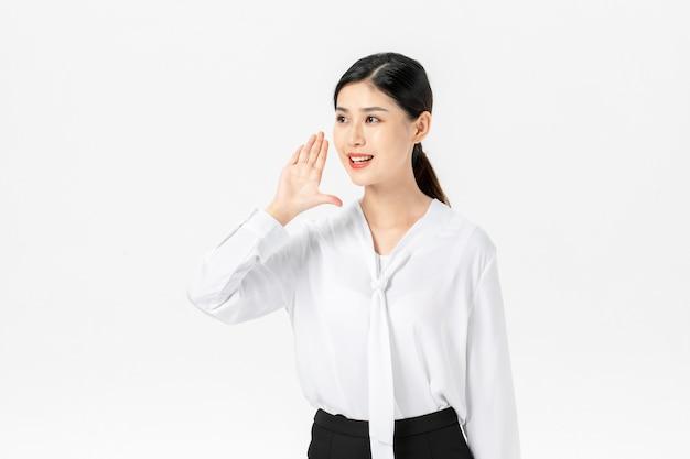 Femme d'affaires confiante