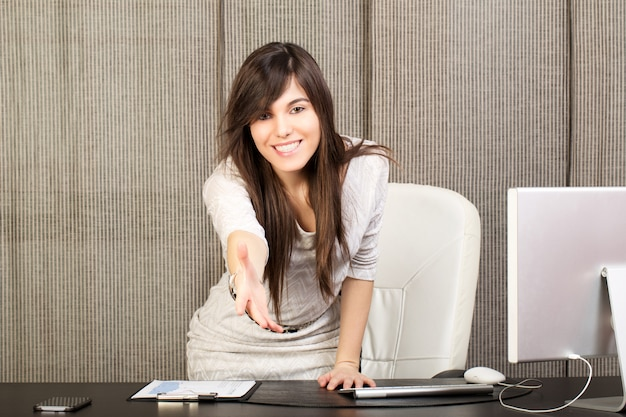 Femme d'affaires - recrutement