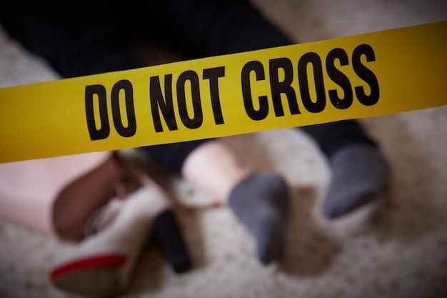 Femme assassinée à la maison