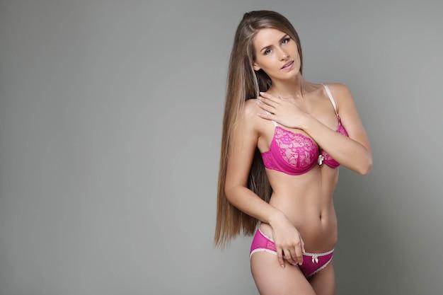 Femme avec beau corps