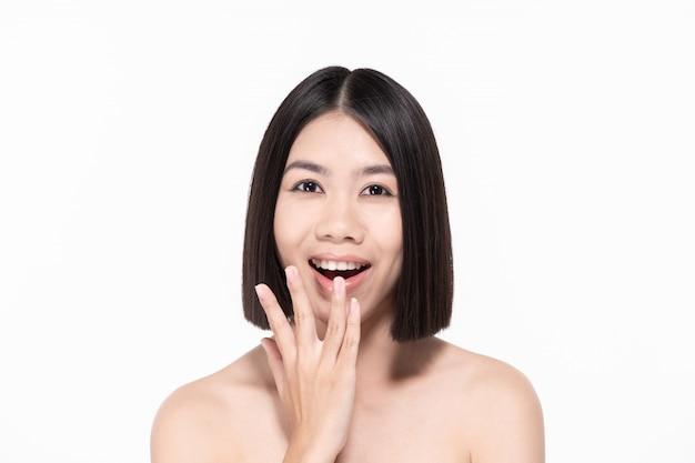 Femme belle en bonne santé