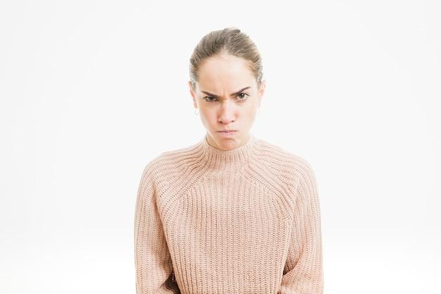 Femme en colère