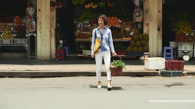 Femme commerçante