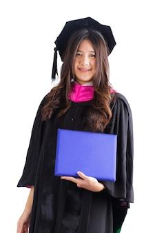 Femme diplômé