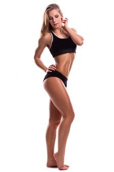 Femme forte de remise en forme