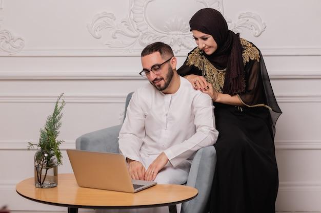 Femme et homme musulmans