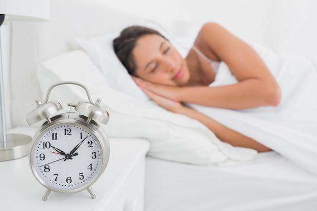 Femme qui dort dans