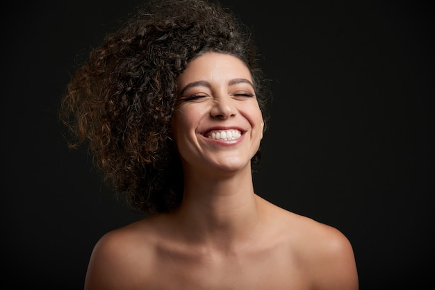 Femme qui rit