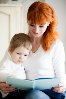 Femme avec son fils