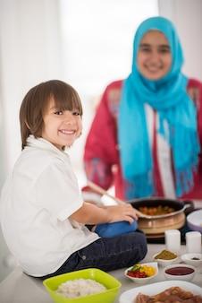 Femme traditionnelle musulmane