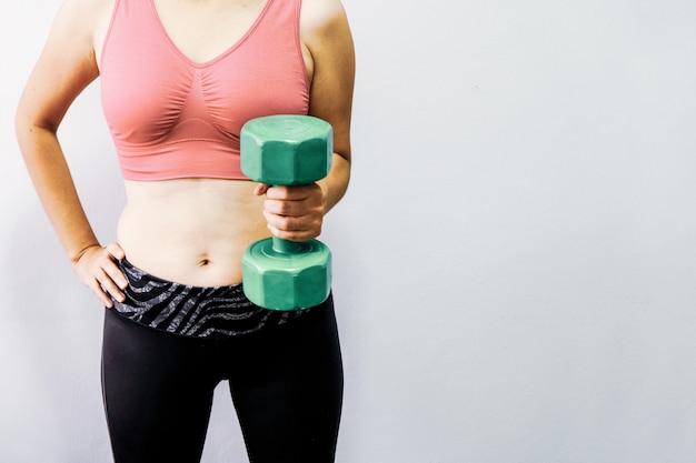 Les femmes obèses veulent faire de l'exercice pour rester en bonne santé.