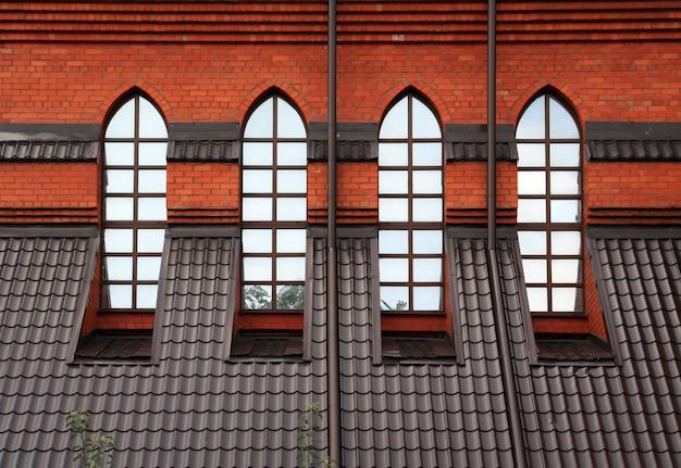 Fenêtre dans l'église catholique