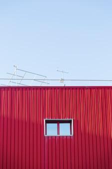 Fenêtre urbaine fermée