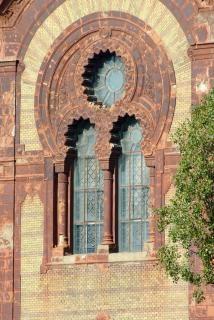 Fenêtres de la synagogue vieille