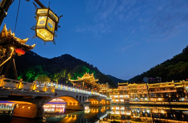 Feng huang ancient town phoenix ancient town, chine